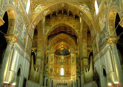 Interno del Duomo di Monreale