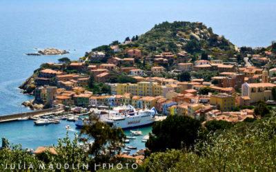Itinerario in Italia, la Maremma e l'Isola del Giglio