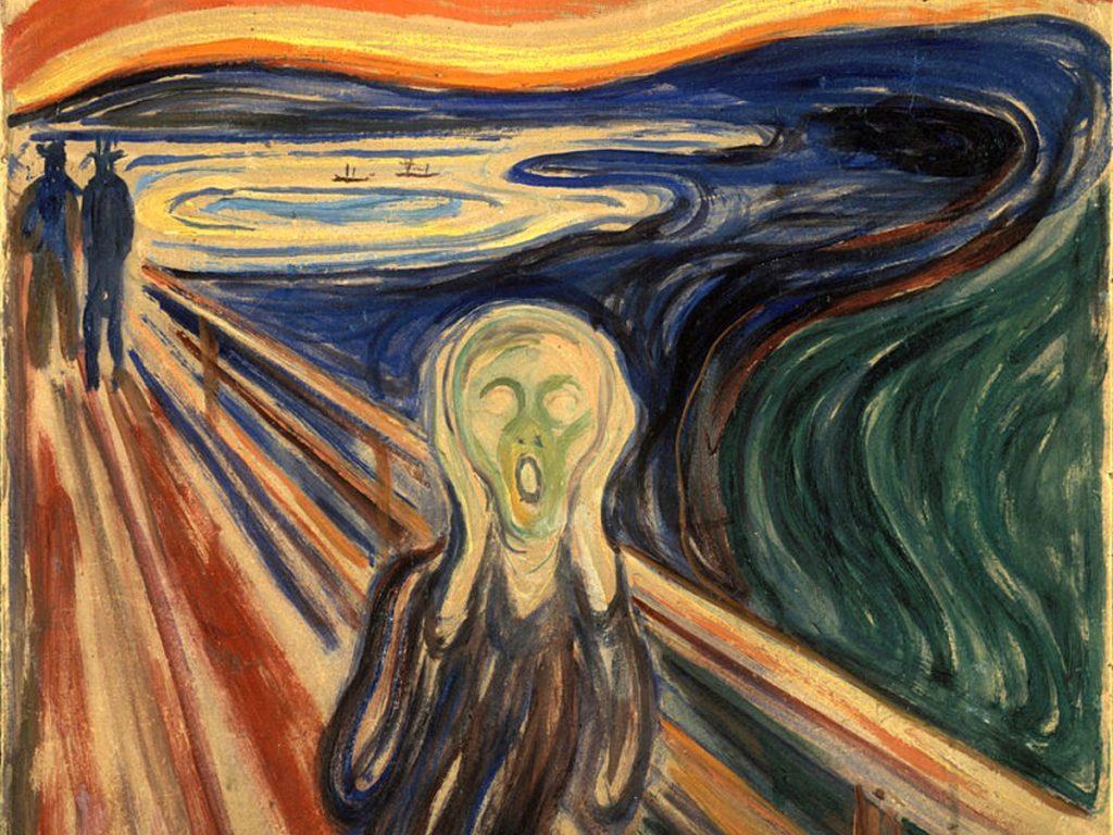 Urlo di Munch in Norvegia