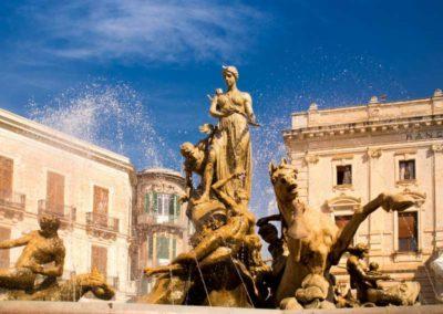 piazza archimede a siracusa