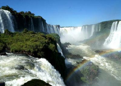 La cascate di iguazu