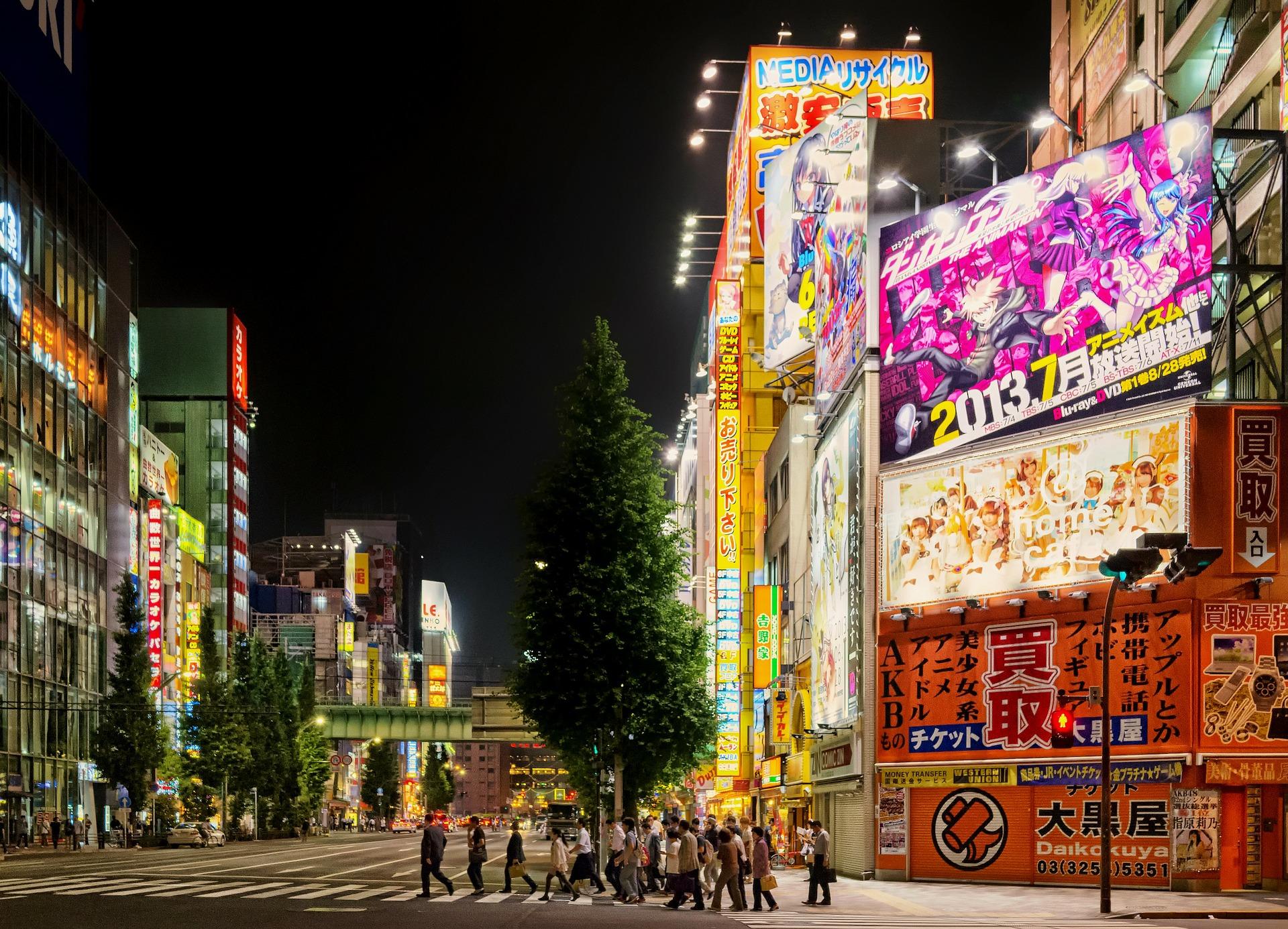 Tokyo viaggio in Giappone