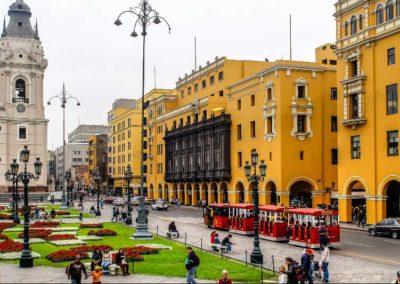 Centro di Lima Perù
