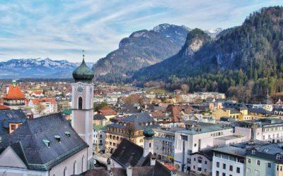Ferragosto nel Tirolo e nella valle di Innsbruck in Austria