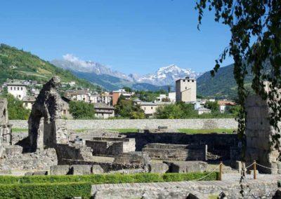 Aosta scavi archeologici
