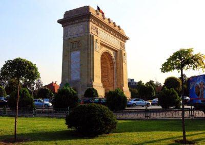 Bucarest Arco di Trionfo