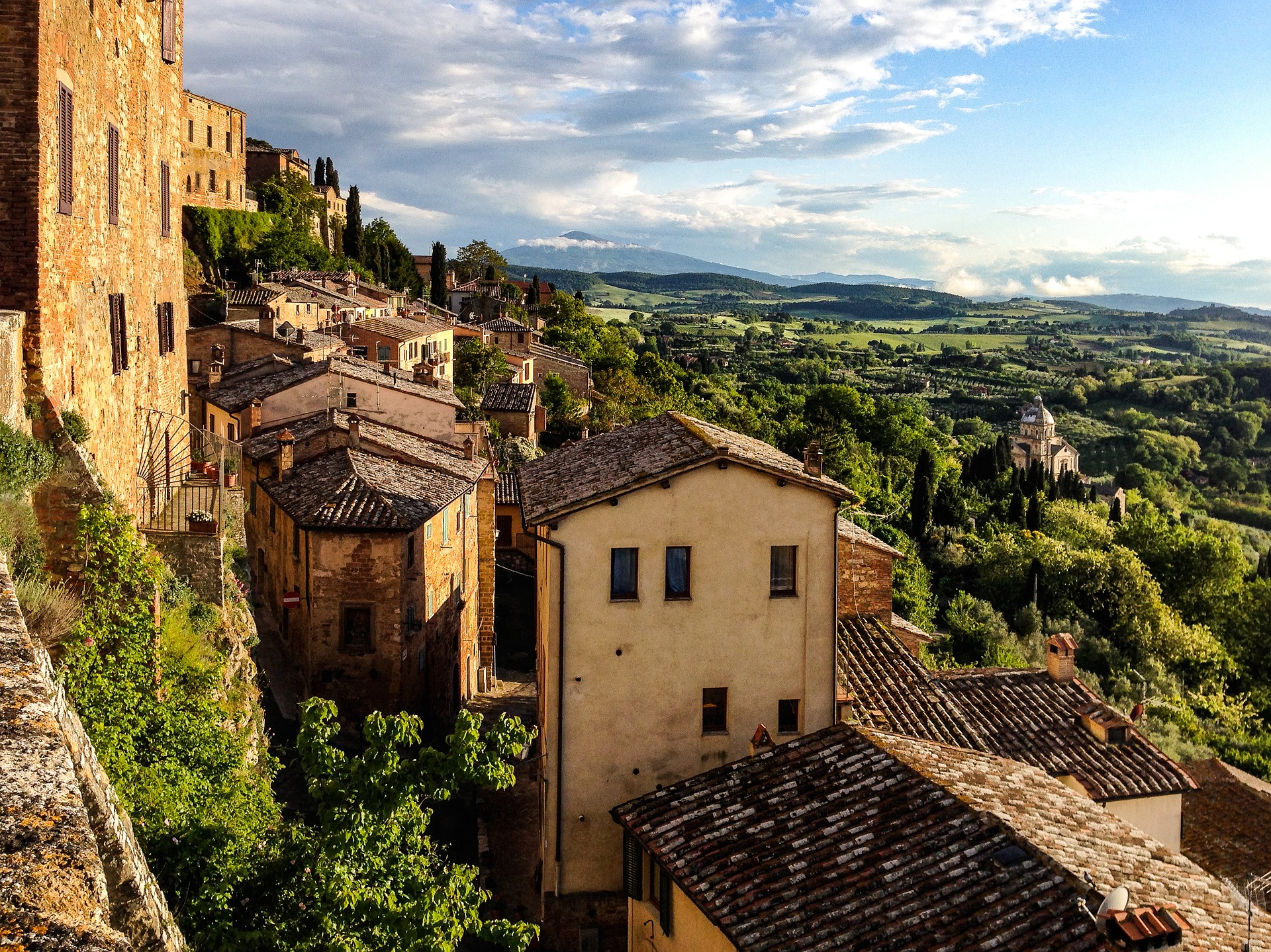 Montepulciano in Toscana