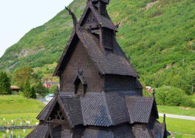 Laerdal Borgund Stavkirke
