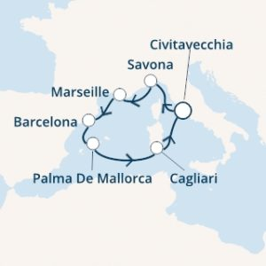 Itinerario Costa Smeralda