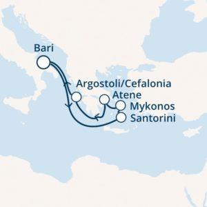 Itinerario Costa Mediterrenea