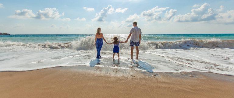 Vacanza al mare con bambini