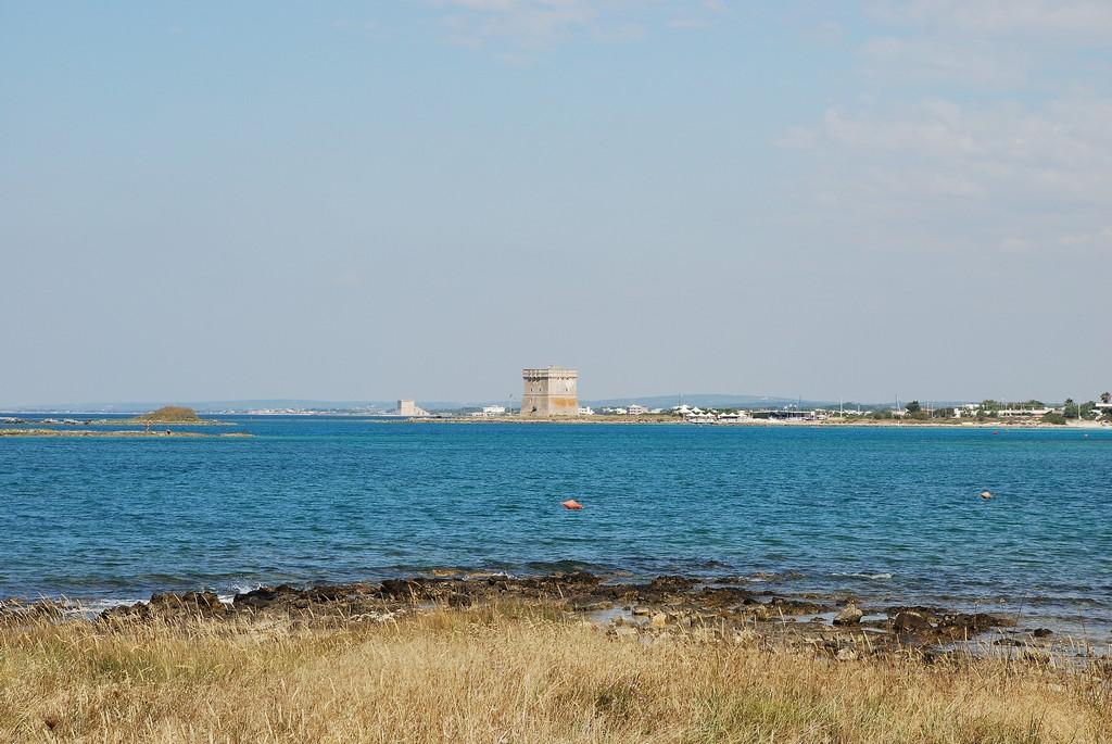 Spiaggia di Torre Chianca in Puglia