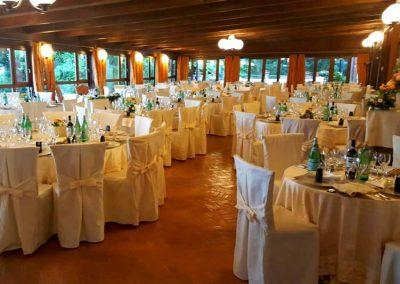 Sala da pranzo del resort