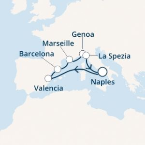 Itinerario Costa Firenze