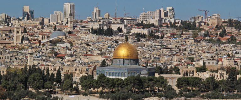 Gerusalemme e il suo panorama